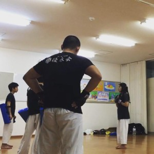 優水会空手道 桃山南支部 ミット