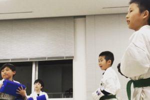平成29年3月27日 京都の教育、実戦空手 月曜  伏見支部 少年部2部