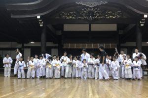 第20回空手審査 京都市武道センター