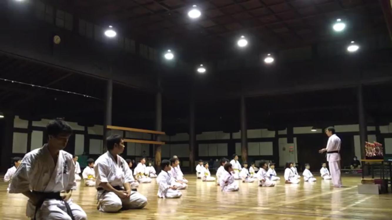 第16回優水会空手道昇段昇級審査